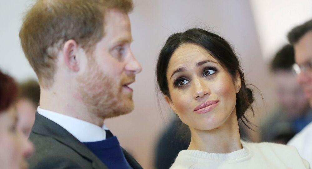 prince Harry et de Meghan Markle