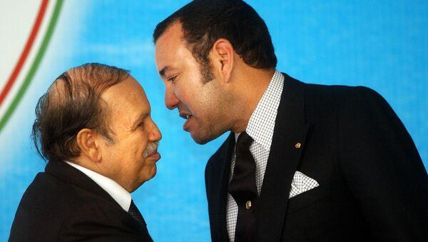 Le Président algérien Abdelaziz Bouteflika et le roi du Maroc Mohammed VI - Sputnik France