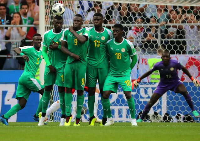 Football Coupe du monde 2018 Match Pologne - Sénégal