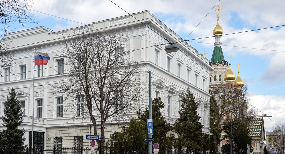 Ambassade de Russie à Vienne