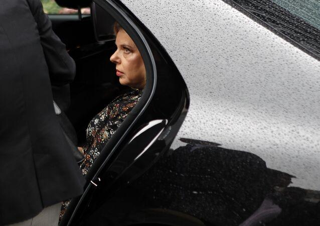 L'épouse du Premier ministre israélien, Sara Netanyahu