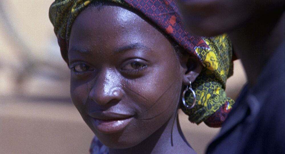 Une femme noire