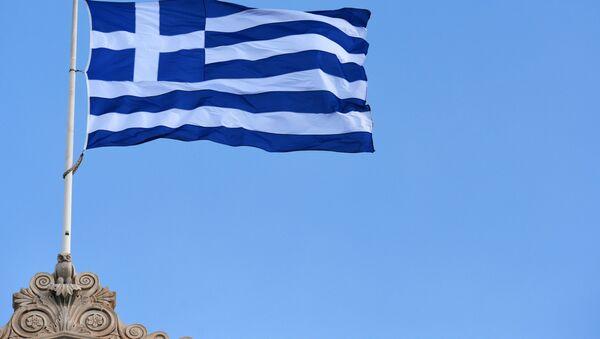 Le drapeau de la Grèce - Sputnik France