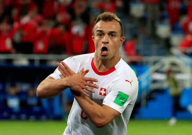 World Cup - Group E - Serbia vs Switzerland Xherdan Shaqiri