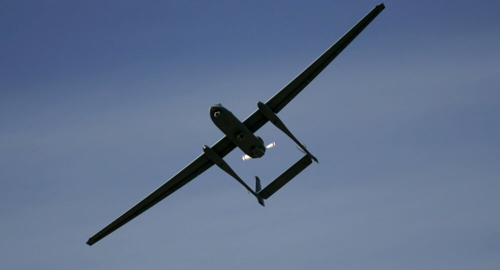 Un drone isarélien