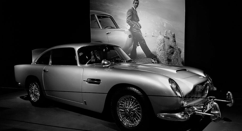 La voiture de James Bond