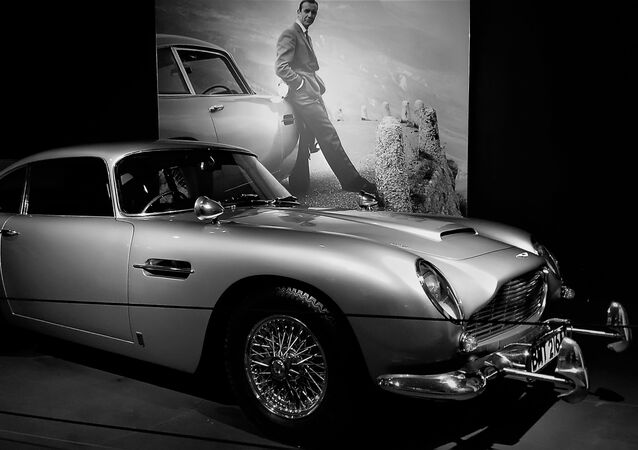 La voiture de James Bond