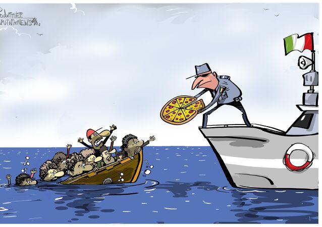 Rome interdit aux navires d'aider les réfugiés en détresse