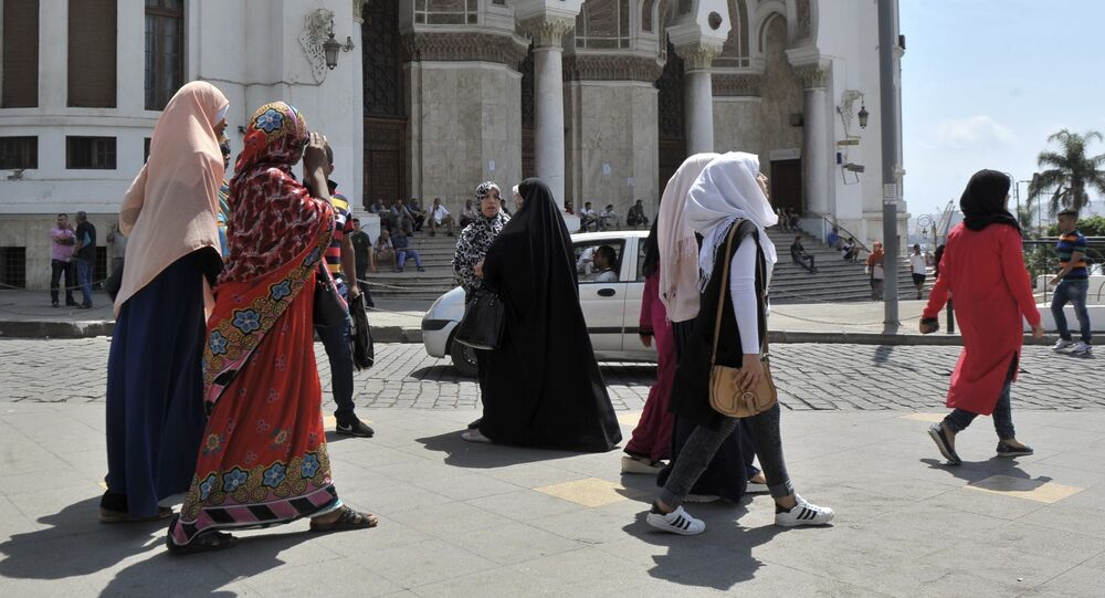 Algérie. Photo d'archive