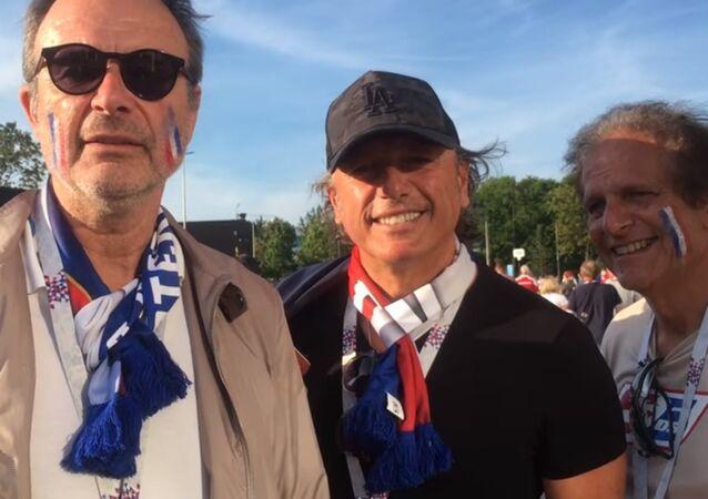 Témoignages de supporters français