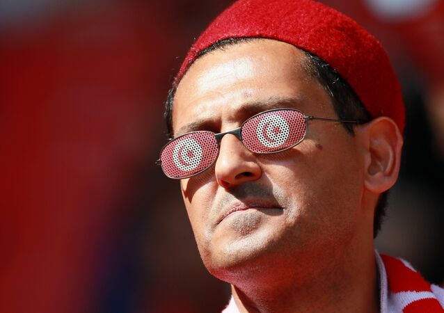 Un supporter tunisien