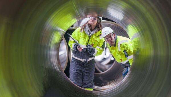Bau der Pipeline Nord Stream 2 (Archiv) - Sputnik France