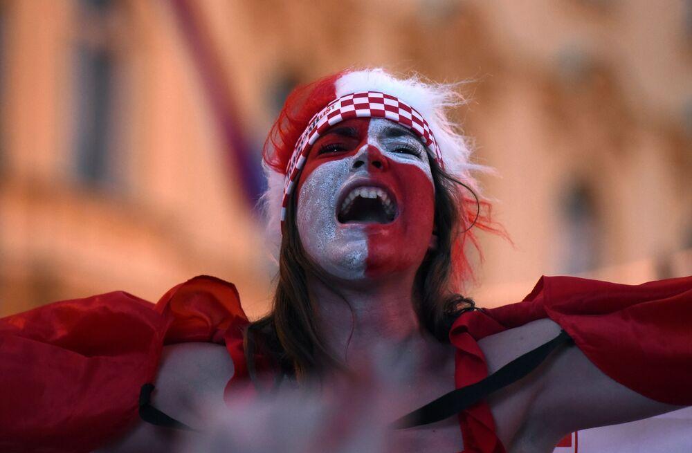 Rires et larmes: les émotions des supporters à la Coupe du Monde 2018