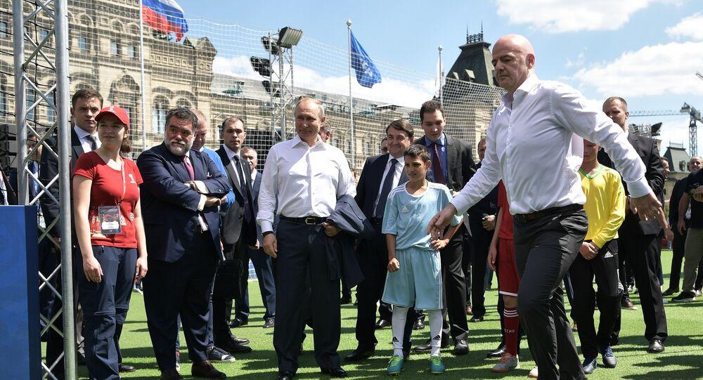 La Coupe du Monde de football, un outil d'influence au service du Kremlin?