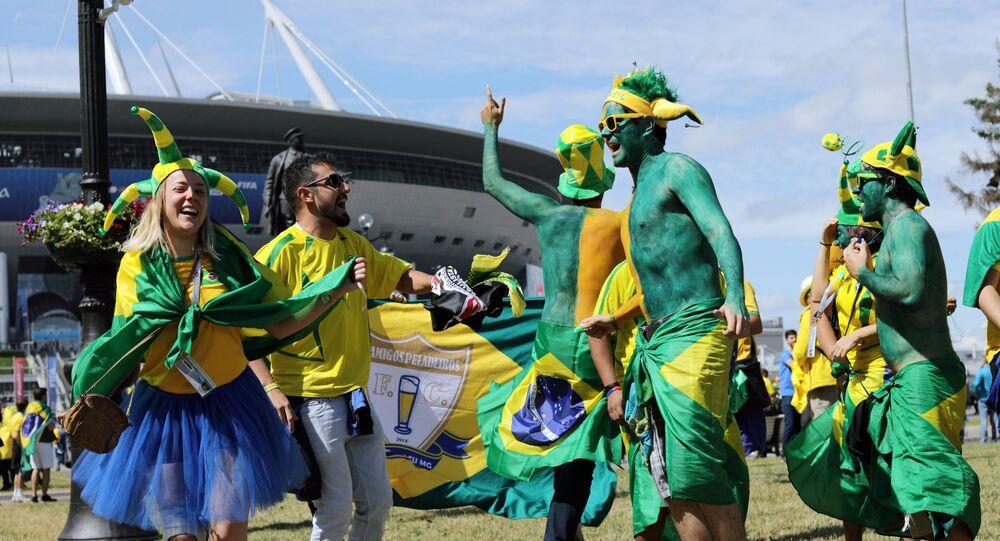 Fans brésiliens