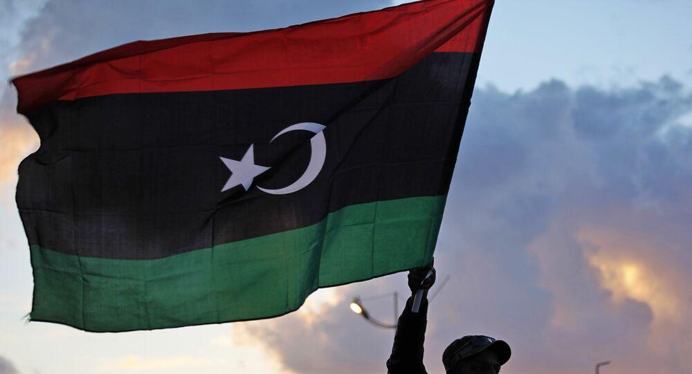 Drapeau de la Libye