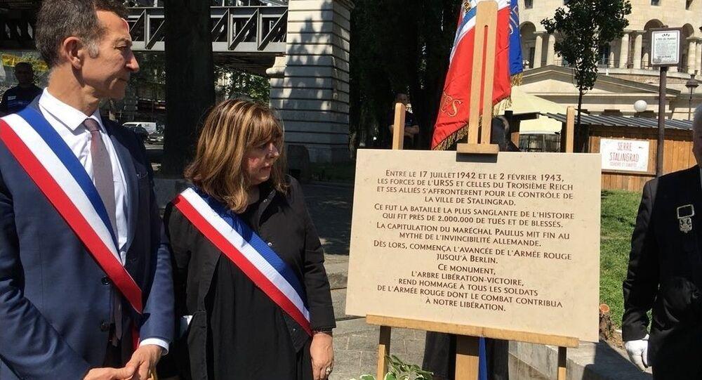 Paris commémore la bataille de Stalingrad pour ne pas oublier «ce magnifique sacrifice»