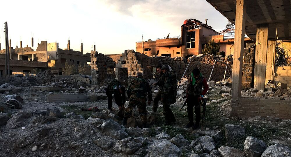 Des militaires syriens à Deraa