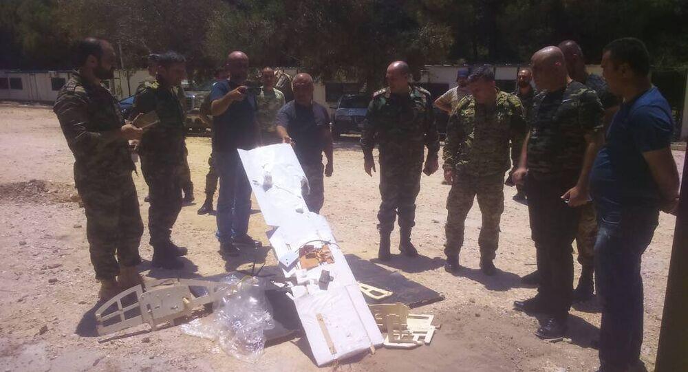 Drones abattus près de la base de Hmeimim