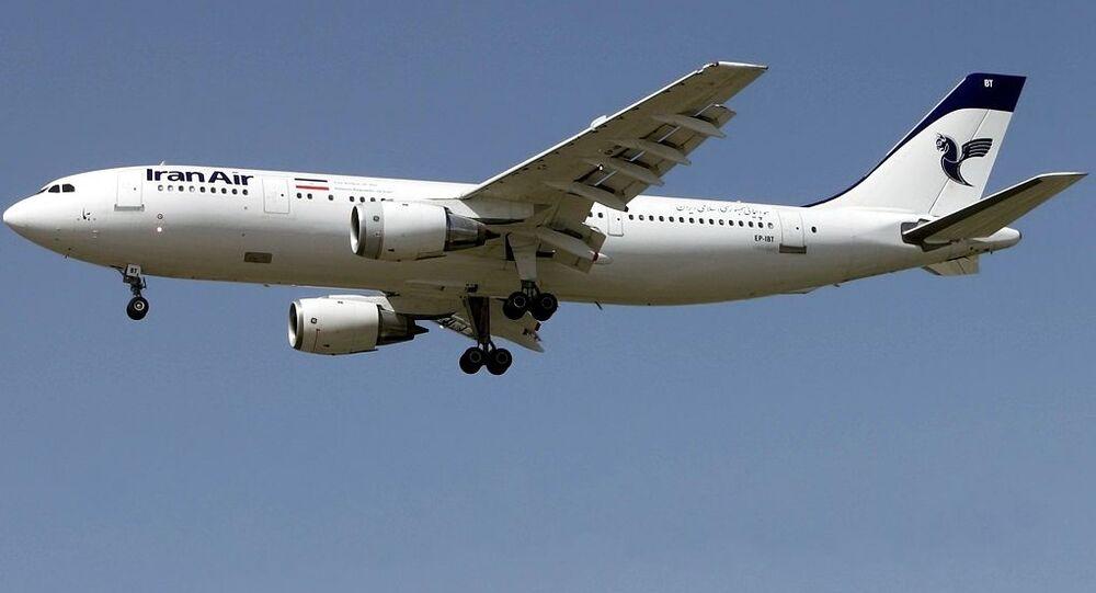 Un avion de ligne iranien Airbus A300B2