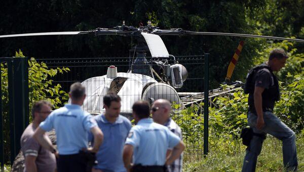 Ünlü gangster Redoine Faid, cezaevinden helikopterle firar etti - Sputnik France