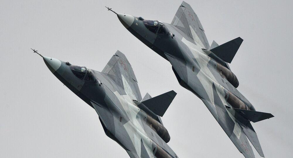 Su-57 (archive photo)
