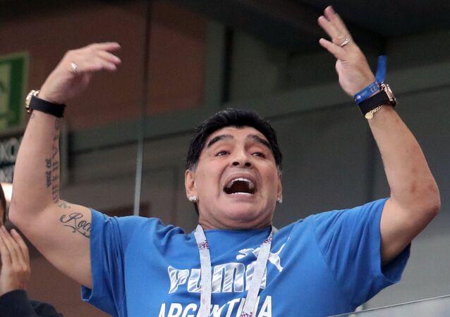 Footballeur Diego Maradona