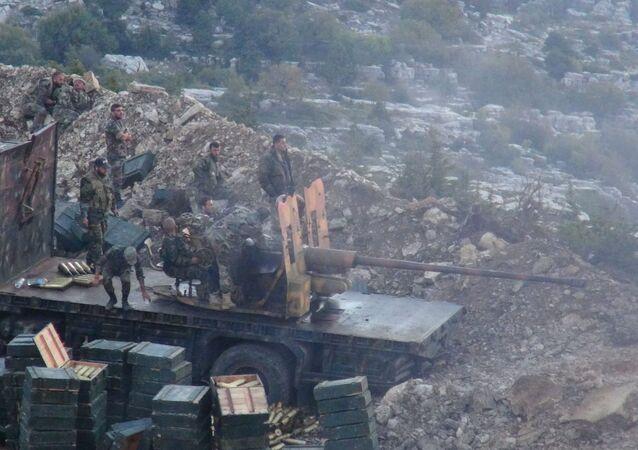 Lattaquié: un pilonnage nocturne de l'armée syrienne contre les djihadistes