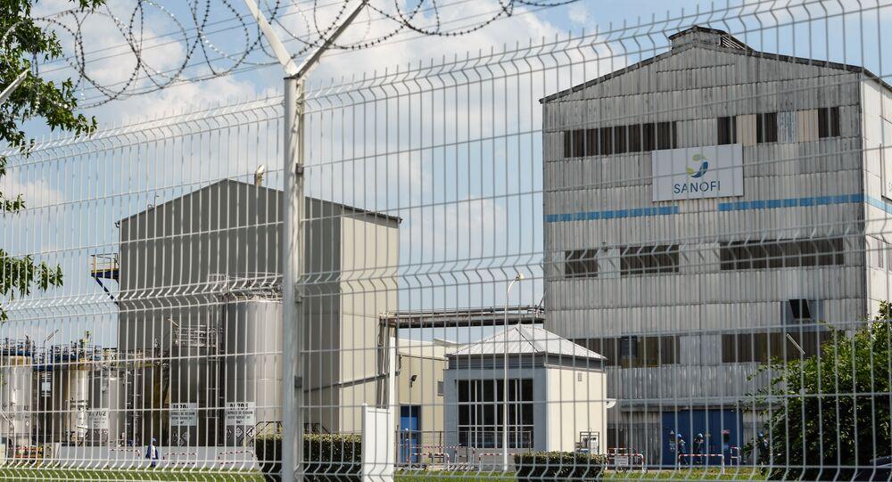 l'usine de Sanofi à Mourenx