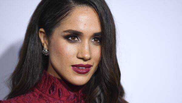 Meghan Markle arrives at ELLE's 6th annual Women in Television celebration at the Sunset Tower Hotel on Wednesday, Jan. 20, 2016, in Los Angeles. - Sputnik France