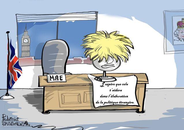 May désigne un nouveau secrétaire au Foreign Office pour remplacer Boris Johnson