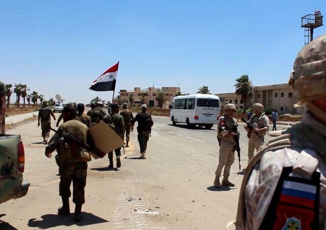 Province syrienne de Deraa: tout est prêt pour l'évacuation des radicaux vers Idlib