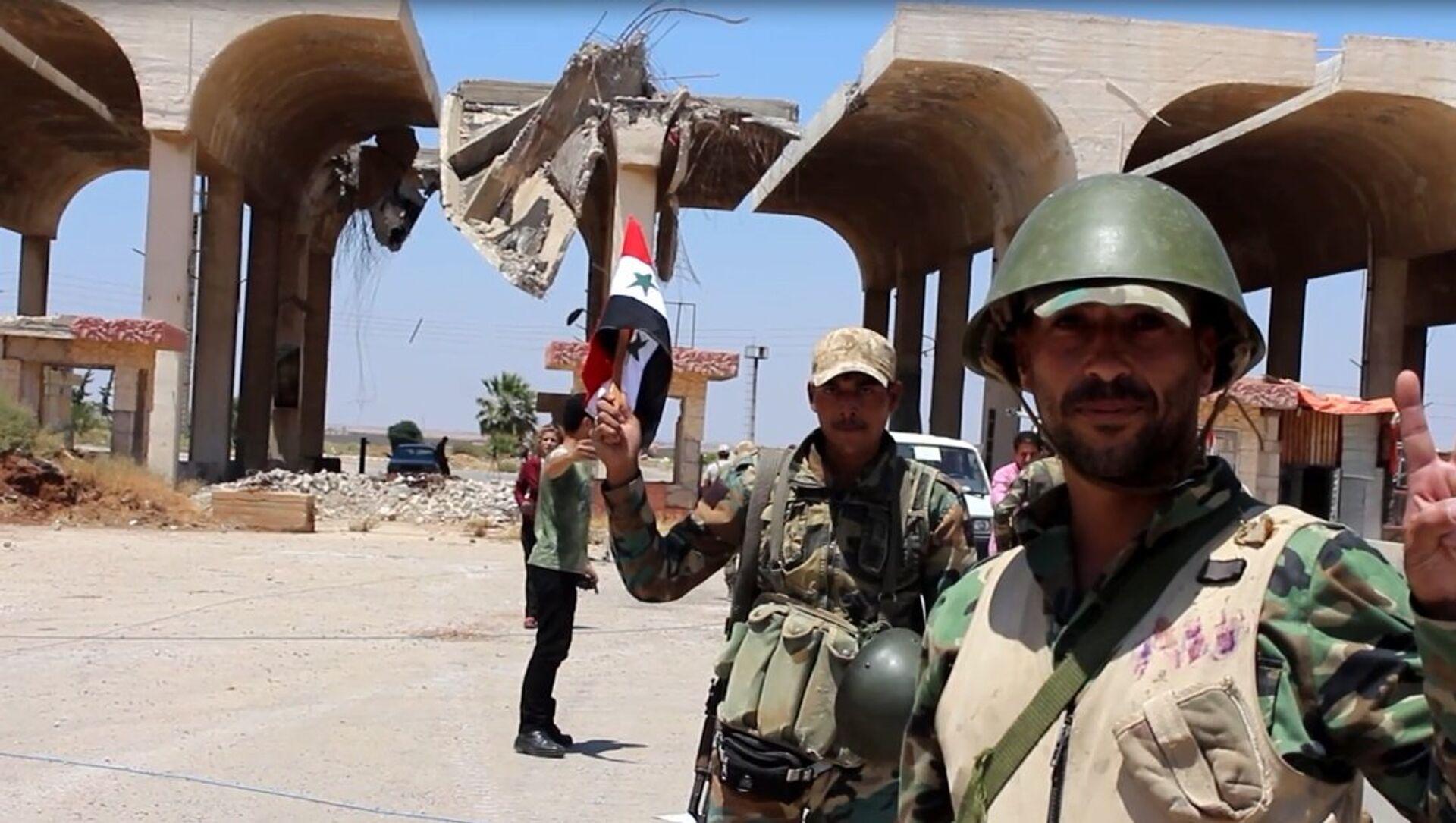 Province syrienne de Deraa: tout est prêt pour l'évacuation des radicaux vers Idlib - Sputnik France, 1920, 31.08.2021