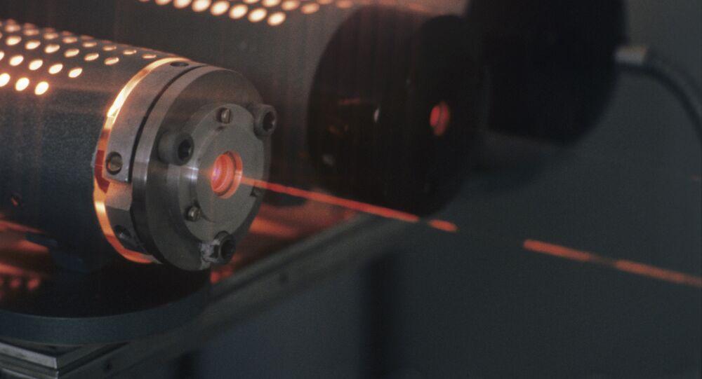 Laser. Image d'illustration