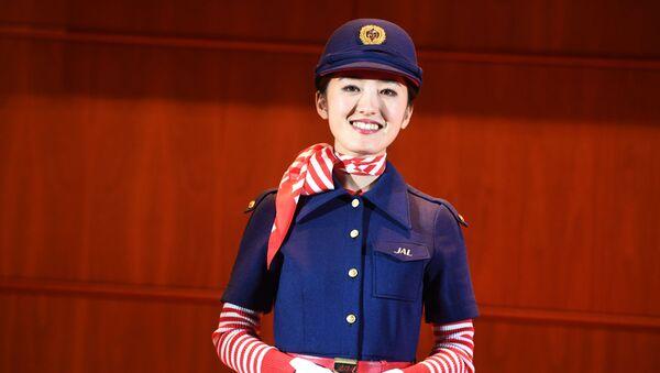 Une hôtesse de la compagnie Japan Airlines - Sputnik France