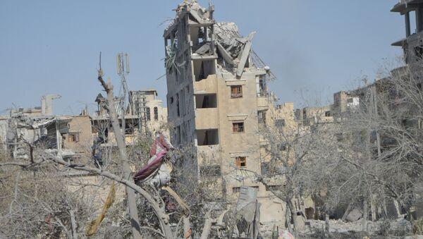 Destructions à Raqqa - Sputnik France