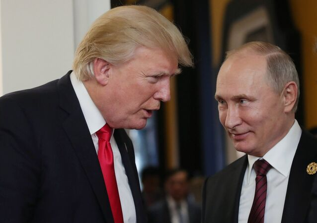 Donald Trump et Vladimir Poutine. Photo d'archive