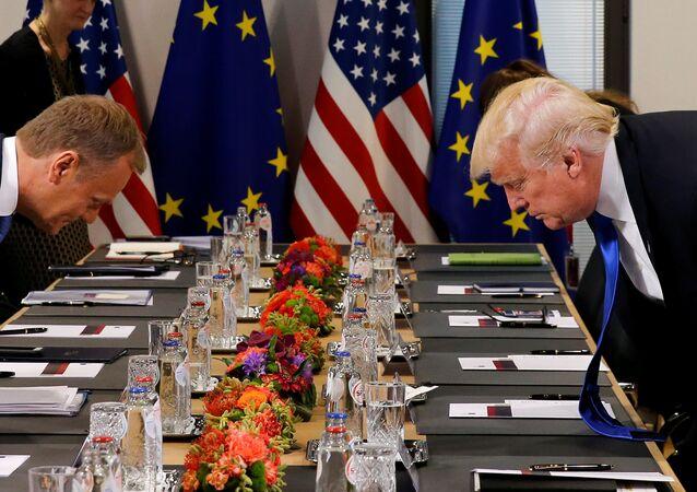 Tusk appelle Trump à respecter les partenaires européens des USA