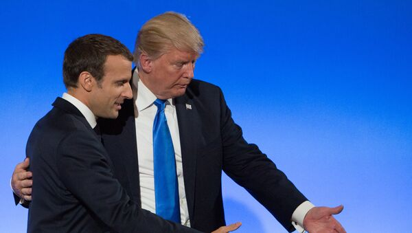 Visite de Donald Trump à Paris - Sputnik France