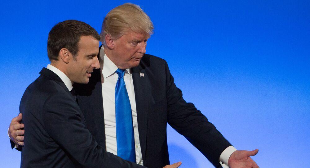 Visite de Donald Trump à Paris