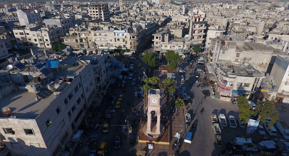 La ville d'Idlib