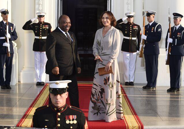 Ali Bongo Ondimba et son épouse Sylvia