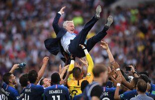 Didier Deschamps après la finale de la Coupe du monde 2018