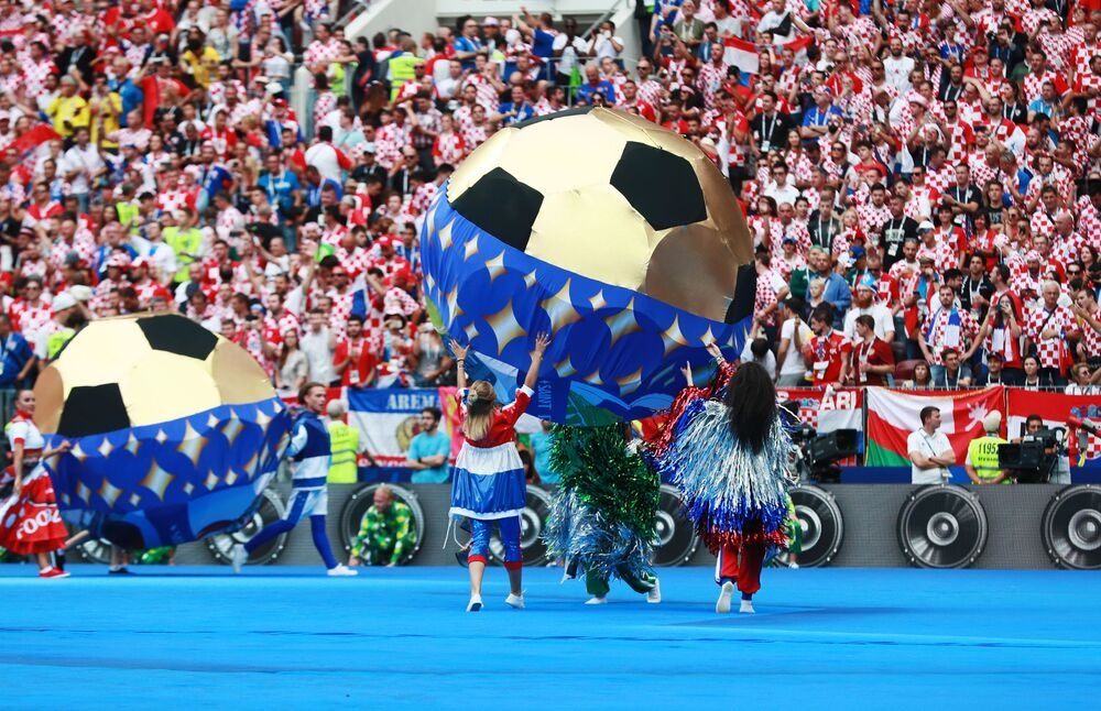 Cérémonie de clôture de la Coupe du Monde de football 2018