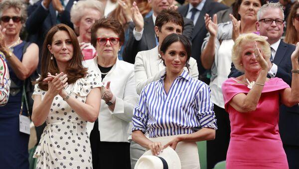 Kate Middleton et Meghan Markle - Sputnik France