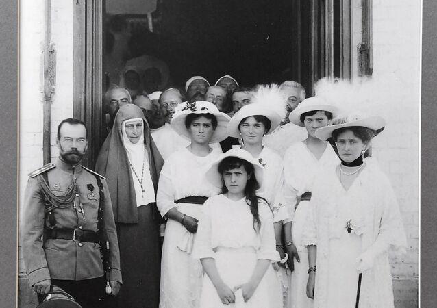 La famille du dernier empereur russe Nicolas II