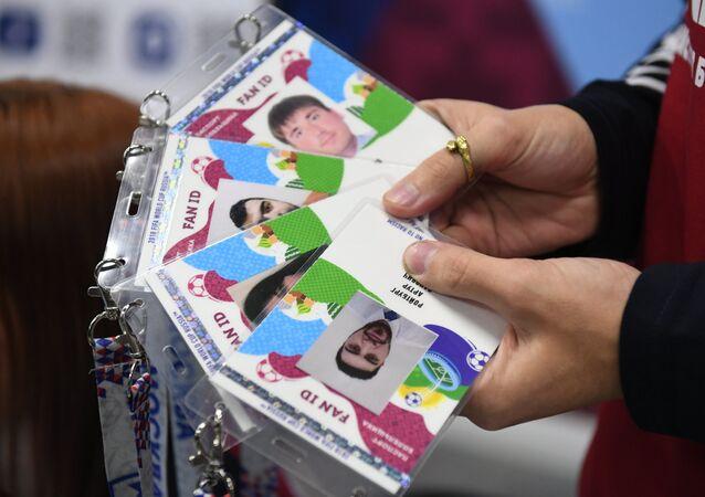 Des passeports de supporter permettant aux étrangers de voyager en Russie sans visa