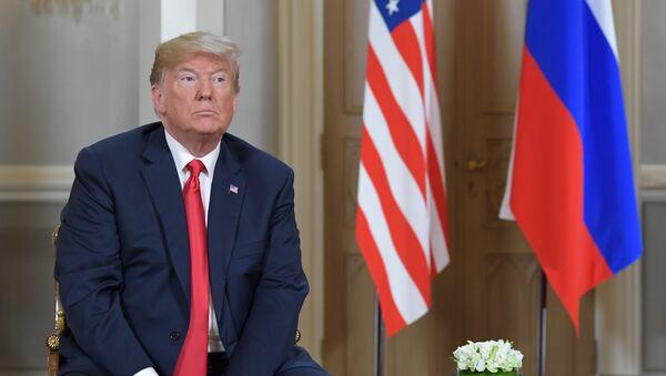 Donald Trump et Vladimir Poutine - Sputnik France