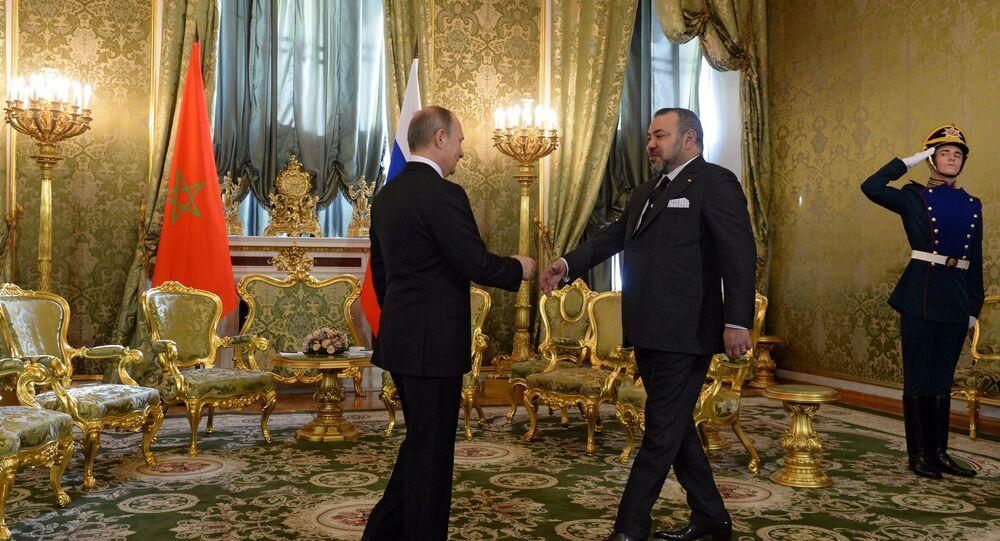 Rencontre entre Vladimir Poutine et le roi Mohammed VI