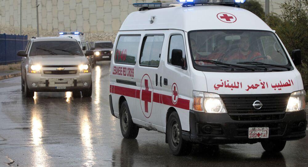 une ambulance syrienne